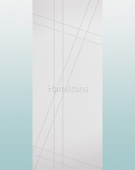 LPD Hastings Modern White Panel Doors