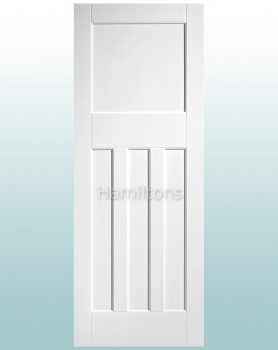 LPD Premium White DX30's Solid Panel Doors