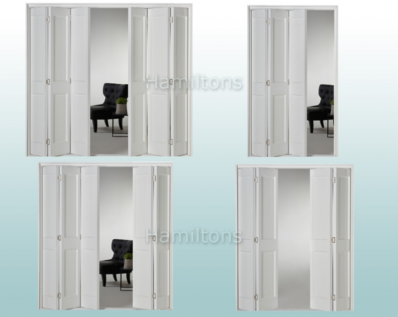 Slimfold White Victorian 2 Panel. 3, 4, 5 and 6 Folding Doors - Save ...