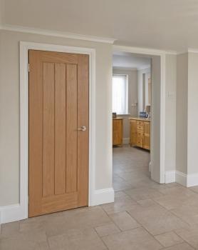 Woodland Deluxe Oak Mexicano Bespoke Size Doors