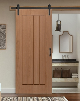 Woodland Essentials Oak Mexico Bespoke Size Doors