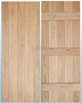 Woodland Solid Oak Prime Grade Butt and Bead Ledge Doors