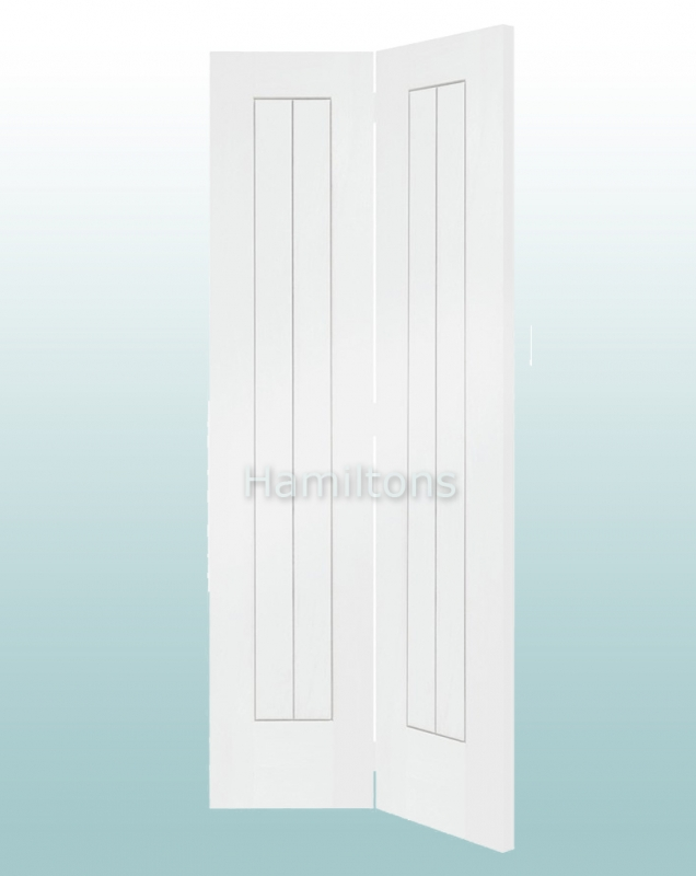 XL Joinery White Suffolk Bi-fold Doors For 686mm And 762mm Openings & XL Joinery White Suffolk Bi-fold Doors For 686mm And 762mm Openings ...