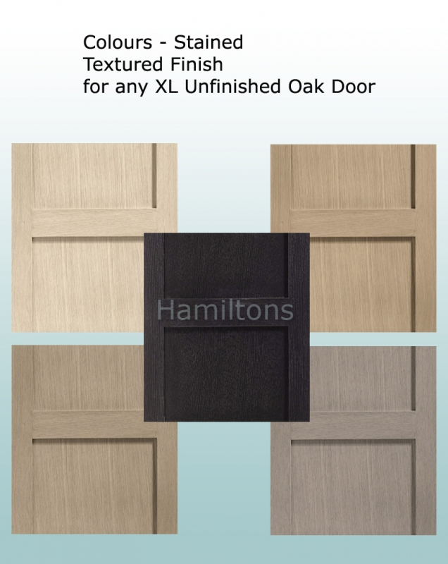 Have Any XL Joinery Oak Door Stained Any Colour
