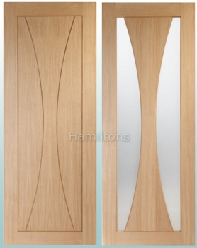 XL Joinery Oak Verona Panel Doors and Matching Glazed Doors