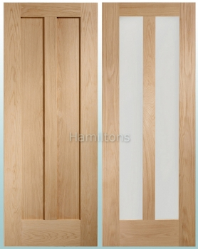 XL Oak Novara Standard Doors and FD30 Fire Doors
