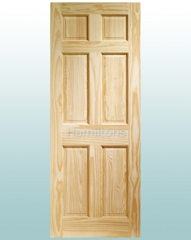 XL Joinery Clear Pine Colonial 6 Panel Standard Doors