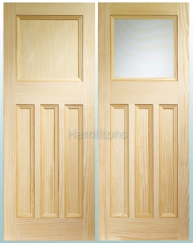 XL Joinery Vine DX30 Vertical Grain Pine Panel Or Obscure Glass Doors