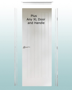 XL Joinery White Simpli Doorsets. Linings With Hinges And Latches