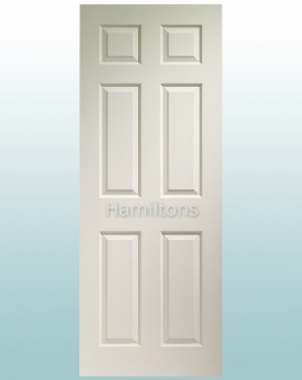 XL Joinery White Colonist 6 Panel Doors