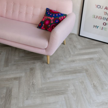 Berry Alloc Chateau Jarva Light Grey Oak Narrow Width Herringbone