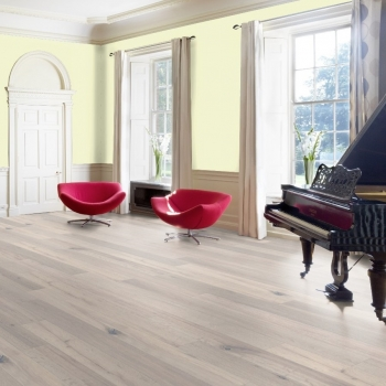 Furlong Mont Blanc Oak  Ivory White 20mm Engineered Wood Flooring