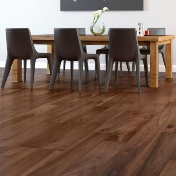 Furlong Next Step Black American Walnut 189mm Engineered wood flooring