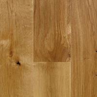 Furlong Rustic Solid Oak Virginia 125mm Satin lacquer floor