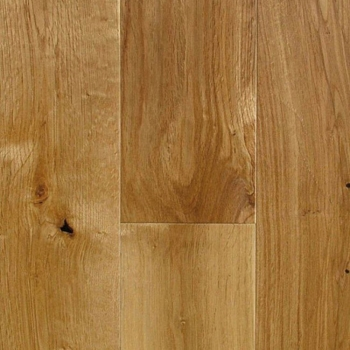 Furlong Rustic Solid Oak Virginia 125mm Satin lacquer floor