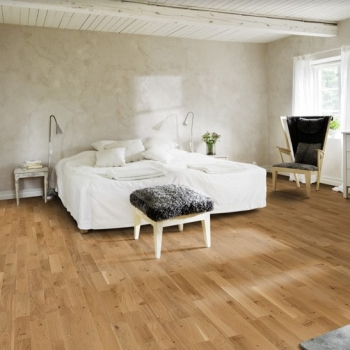 Kahrs Tres Oak Eve Matt Lacquer Engineered Wood Flooring