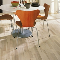 Kahrs Avanti Ash Ceriale White Stained Engineered Wood Flooring