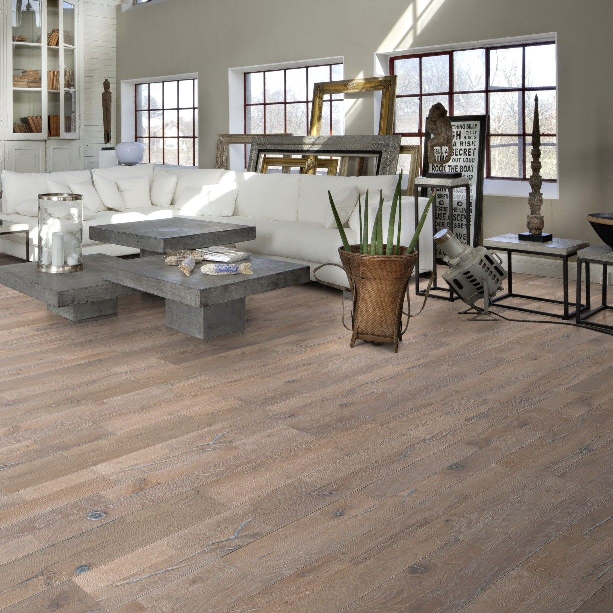 Kahrs Stockholm Expressive White 2-Strip Engineered Wood Flooring