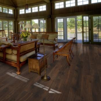 Kahrs Imperial Oak Dark Brown Engineered Wood Floor
