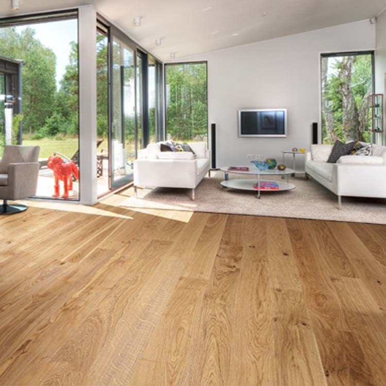 Kahrs Oak Classic Satin Lacquer Engineered Wood Flooring