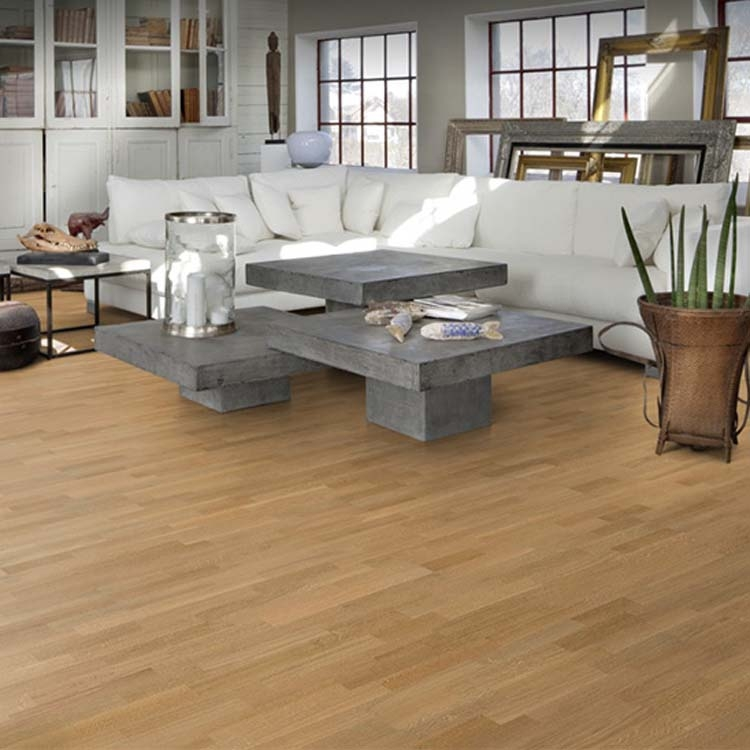 wood lacquer engineered satin floor yard strip oak flooring kahrs lecco kens