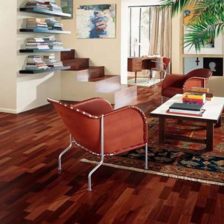 Kahrs Jarrah Sydney Engineered Wood Flooring & Kahrs Sydney Jarrah 15mm 3-strip satin lacquer - Save more at ...