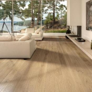 Sale Kahrs Oak Subtle White Engineered Wood Flooring
