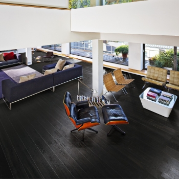 Kahrs Oak Nouveau Charcoal Engineered Wood Flooring