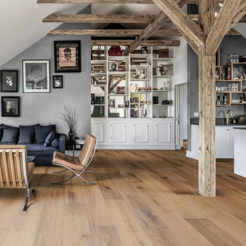 Kahrs Oak Grano Matt Lacquer Engineered Wood Flooring