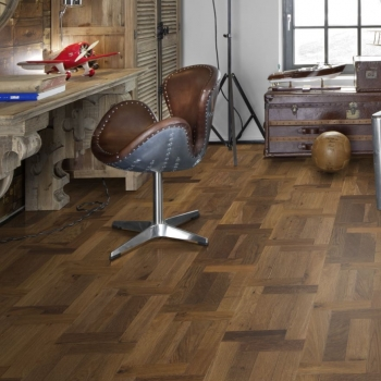 Kahrs Oak Castello Fumo French Pattern Wood Flooring