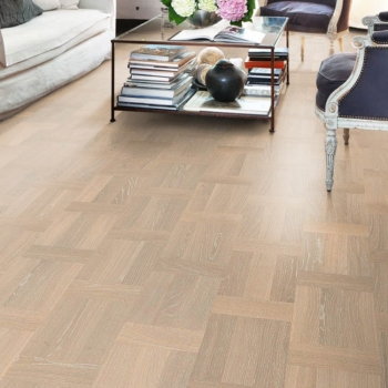Kahrs Palazzo Oak  Bianco White Dutch Pattern Wood Flooring