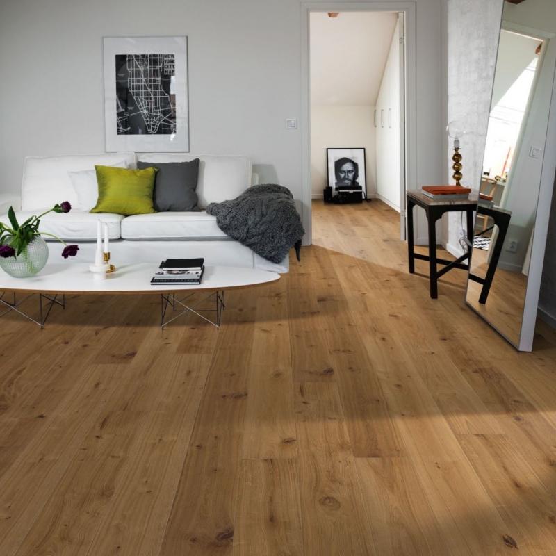 Kahrs Smaland Vedbo Rustic Oak Engineered Wood Flooring Save More