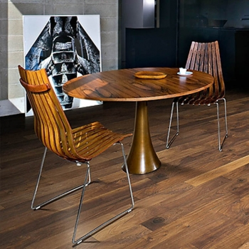 Kahrs Rugged Walnut Groove Engineered Wood Flooring