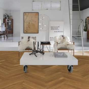 Kahrs Studio Oak AB Natural Herringbone Parquet
