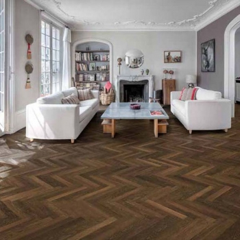 Kahrs Oak Studio Collection Smoked AB Oiled Engineered Wood Flooring