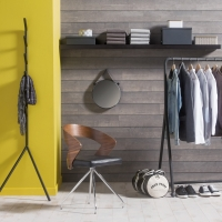 Woodland French Oak Character Grey Wall Panelling