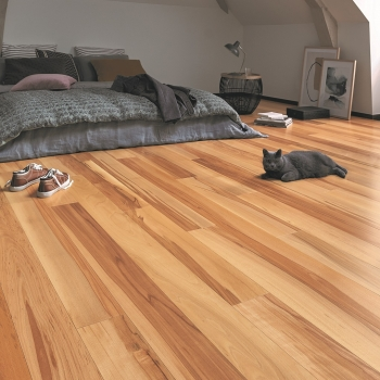Panaget 14mm Diva 139mm Flamed Beech Satin Click Engineered Wood Floor