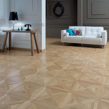 Panaget Carmen Marquetry No5 French Oak Wood Flooring Tiles