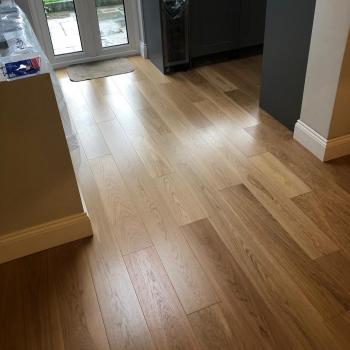 Woodland Classics French Oak Pure Satin Engineered Wood Flooring