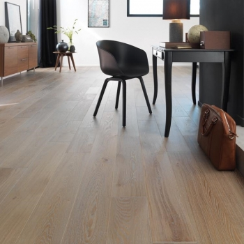 Woodland Classics Warm Grey French Oak Flooring 14 x 184mm