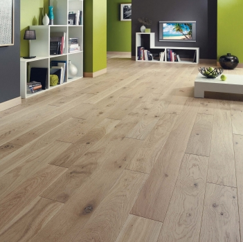 Woodland Classics Rustic Driftwood French Oak Flooring 12 x 184mm