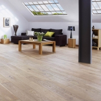 Woodland Classics French Oak Cotton White Engineered Wood Flooring 184