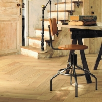 Panaget French Oak Authentic Bois Flotte Herringbone Flooring