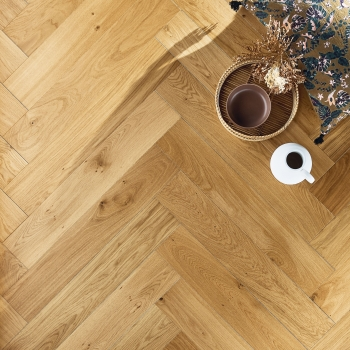 Panaget Diva139 Authentic Miel Herringbone French Oak Flooring
