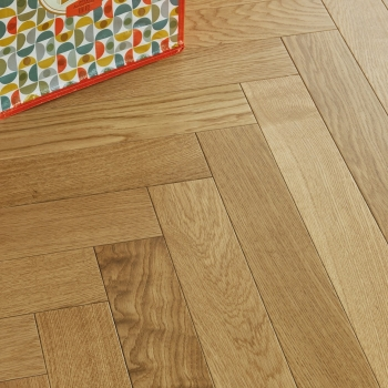 Panaget Authentic French Oak Herringbone Satin Lacquer