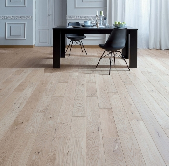 Panaget 12mm Otello Authentic Linen French Oak Engineered Wood Floor