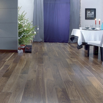 Panaget 12mm Diva 139mm Click Black Walnut Engineered Wood Floor