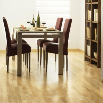 Tarkett Pure Ash Nature 3 strip Engineered Wood Flooring