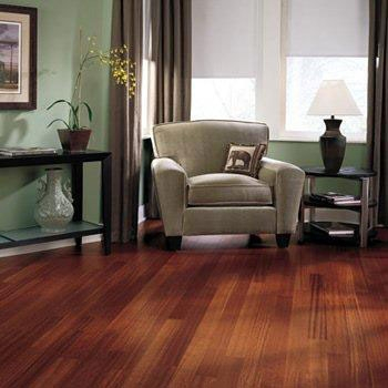 Tarkett Merbau 14mm 1-strip Satin Lacquer. Last 3.5m²