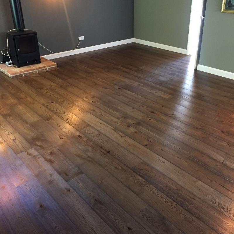 Tarkett Heritage Oak Old Brown Engineered Wood Flooring